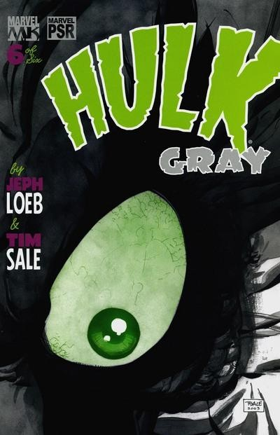 Couverture de Hulk: Gray (2003) -6- F is for Father