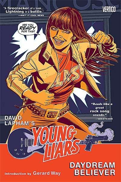 Couverture de Young Liars (2008) -INT1- Daydream Believer