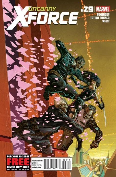 Couverture de Uncanny X-Force (2010) -29- Final execution part 5
