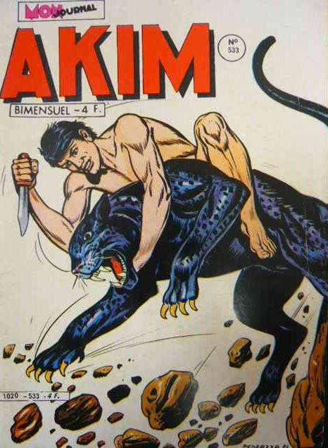 Couverture de Akim (1re série) -533- Les hommes-singes
