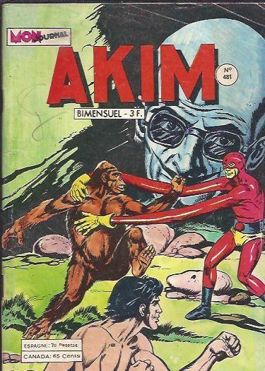 Couverture de Akim (1re série) -481- Les super-robots