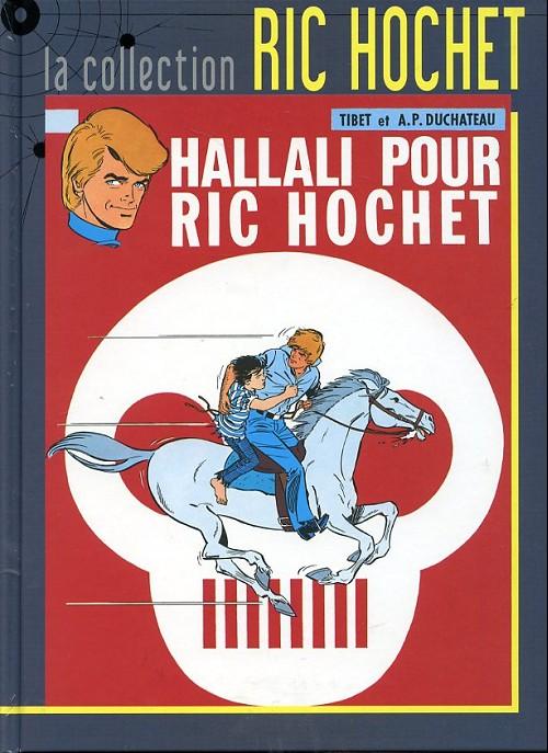 Couverture de Ric Hochet - La collection (Hachette) -28- Hallali pour Ric Hochet