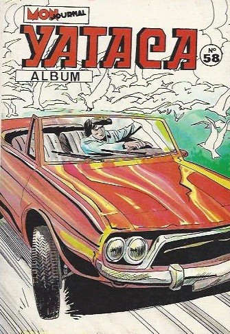 Couverture de Yataca (Fils-du-Soleil) -Rec58- Album N°58 (du n°195 au n°197)