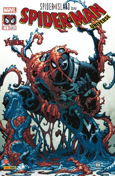 Couverture de Spider-Man Universe (Marvel France - 1re Série) -3- Spider Island 3/4