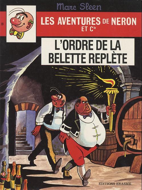 Couverture de Néron et Cie (Les Aventures de) (Érasme) -89- L'ordre de la belette replète