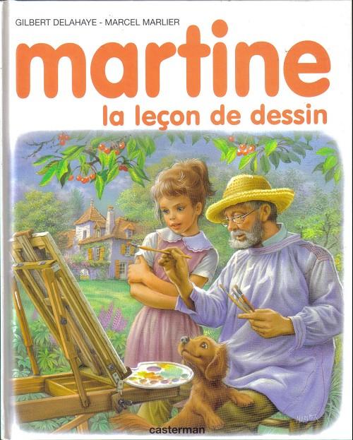 Couverture de Martine -49- Martine, la leçon de dessin