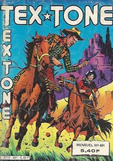 Couverture de Tex-Tone -491- Sourires...