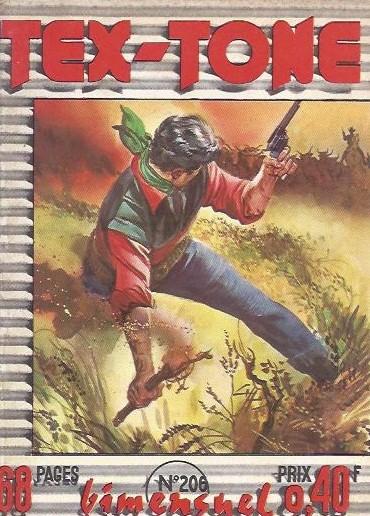 Couverture de Tex-Tone -206- Dangereux charlatan