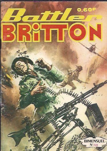 Couverture de Battler Britton -249- Piège dans les glaces