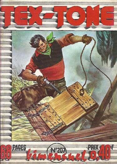 Couverture de Tex-Tone -207- Mississipi