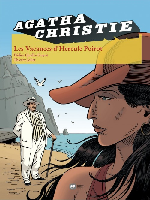 Couverture de Agatha Christie (Emmanuel Proust Éditions) -23- Les Vacances d'Hercule Poirot