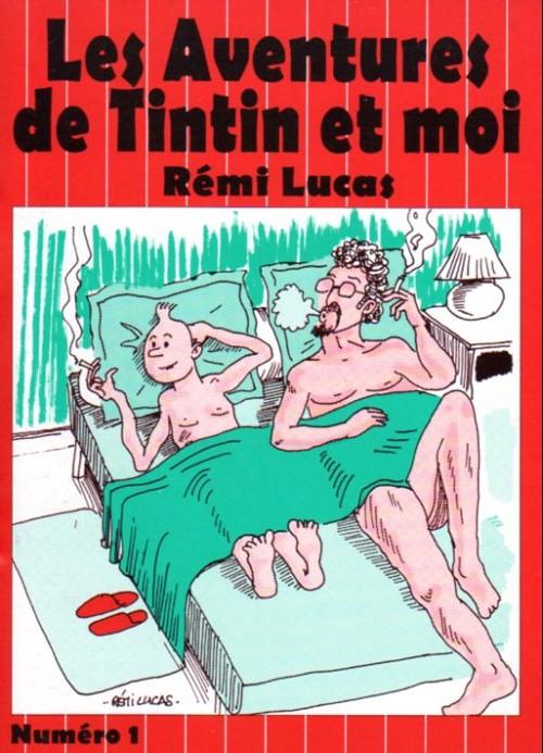 Couverture de Tintin - Pastiches, parodies & pirates -RL1- Les aventures de Tintin et moi