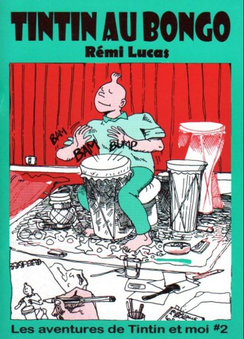 Couverture de Tintin - Pastiches, parodies & pirates -RL2- Tintin au Bongo