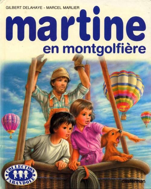 Martine 33a martine en montgolfi re - Martine dessin ...