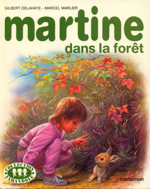 Couverture de Martine -37- Martine dans la forêt