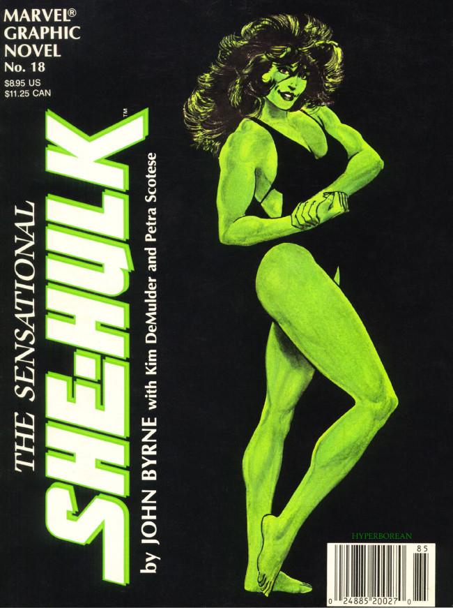 Couverture de Marvel Graphic Novel (Marvel comics - 1982) -18- The Sensational She-Hulk