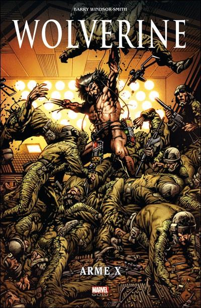 Couverture de Marvel Gold -5- Wolverine : Arme X