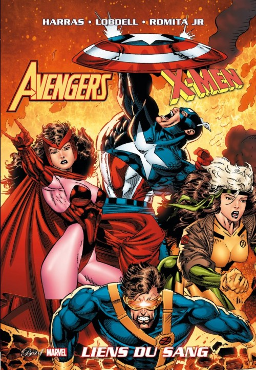 Couverture de Best of Marvel -33- Avengers/X-Men : Liens du sang