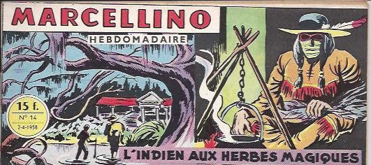 Couverture de Marcellino -14- L'indien aux herbes magiques