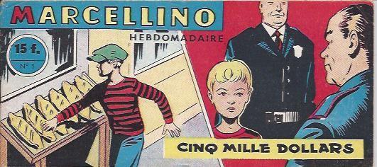Couverture de Marcellino -1- Cinq mille dollars