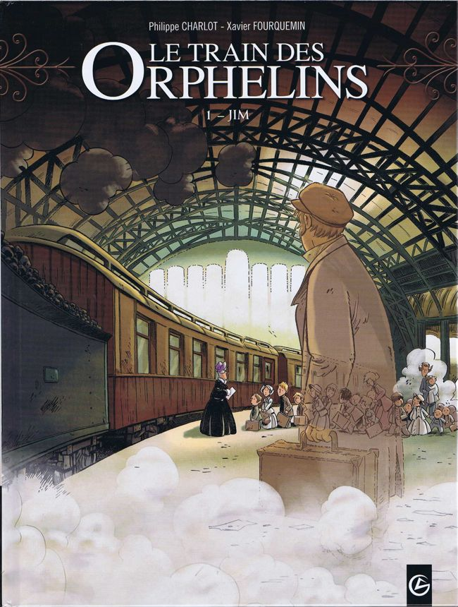 Couverture de Le train des Orphelins -1- Jim