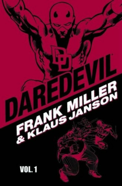 Couverture de Daredevil (1964) -INT- Daredevil by Frank Miller & Klaus Janson Volume 1