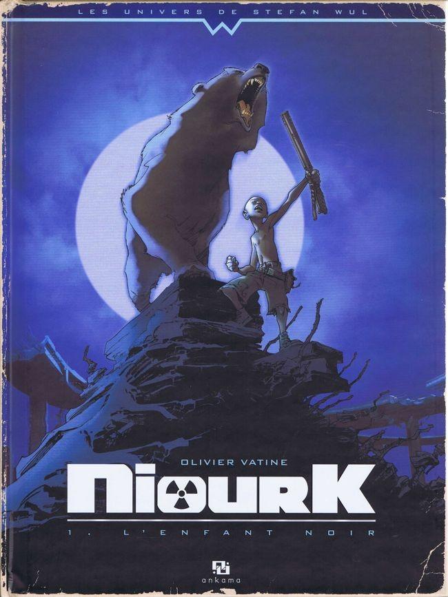 Couverture de NiourK -1- L'Enfant noir