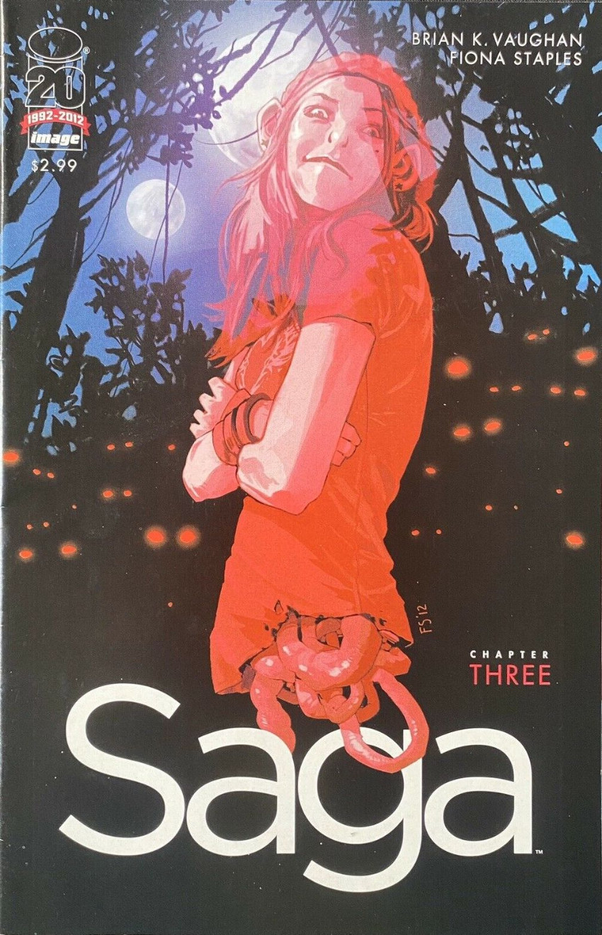 Couverture de Saga (Image comics - 2012) -3- Chapter three