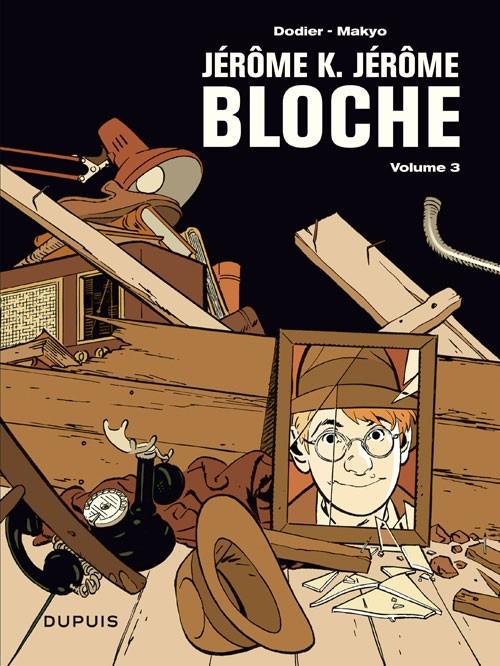 Couverture de Jérôme K. Jérôme Bloche -INT3- L'intégrale - Tome 3