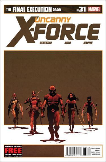 Couverture de Uncanny X-Force (2010) -31- Final execution part 7
