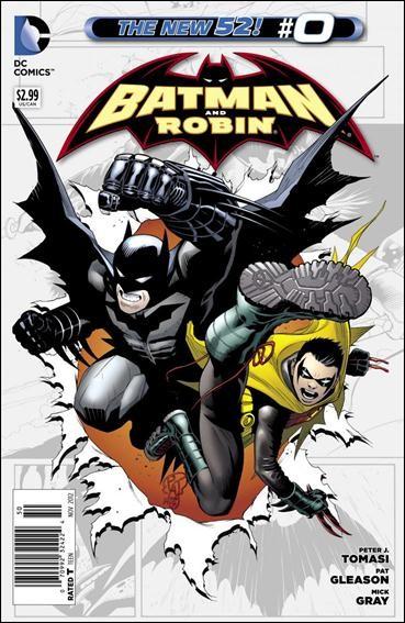 Couverture de Batman and Robin (2011) -0- Someday never comes