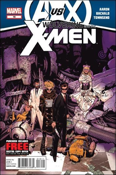 Couverture de Wolverine and the X-Men Vol.1 (Marvel comics - 2011) -16- The fires of hell a-glowing