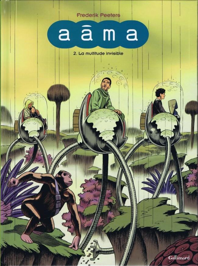 Couverture de Aâma -2- La multitude invisible