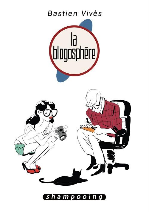 Couverture de Bastien Vivès -4- La blogosphère