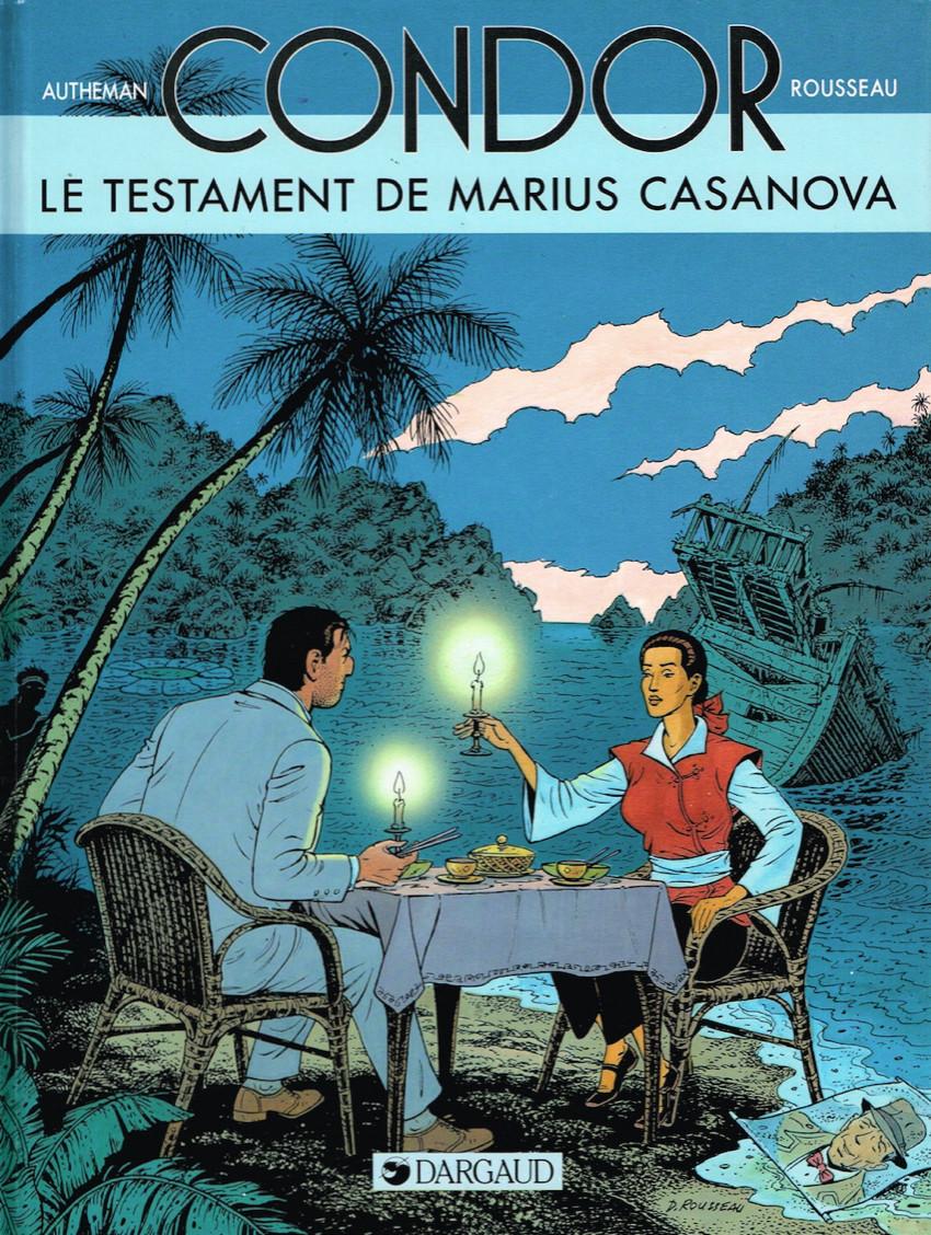 Condor (Autheman/Rousseau) - 6 tomes