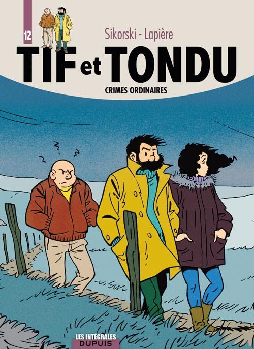 Couverture de Tif et Tondu (Intégrale) -12- Crimes ordinaires