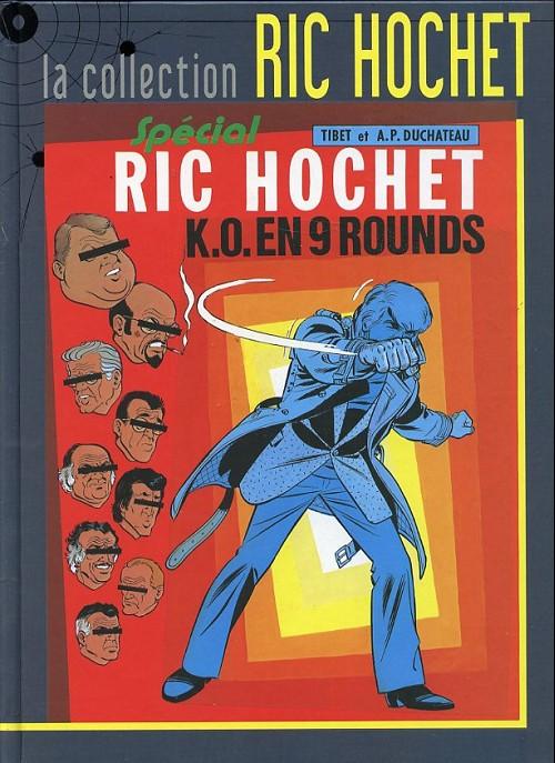 Couverture de Ric Hochet - La collection (Hachette) -31- K.O. en 9 rounds