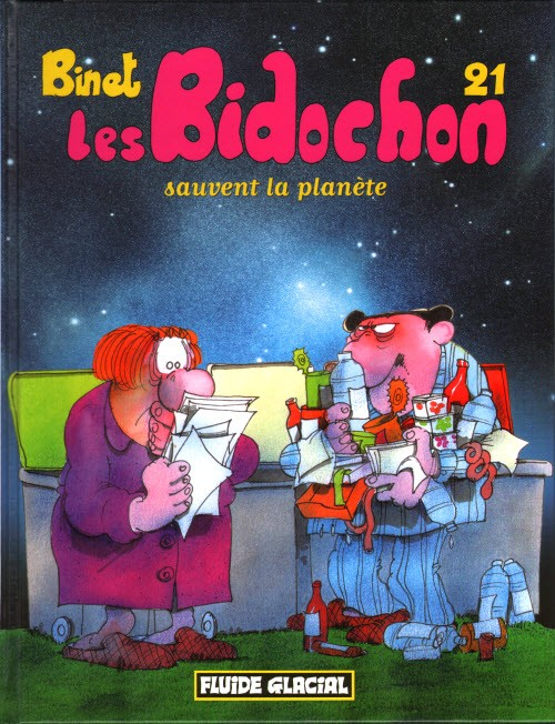 Couverture de Les bidochon -21- Sauvent la planète