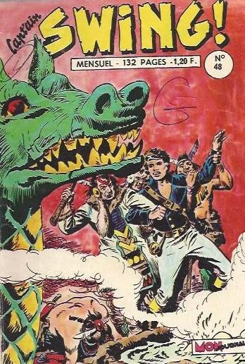 Couverture de Capt'ain Swing! (1re série) -48- Le serpent de mer