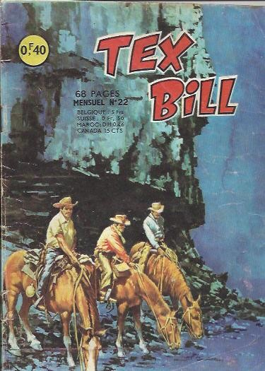 Couverture de Tex Bill -22- La fièvre de l'uranium