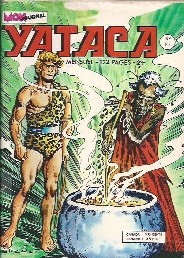 Couverture de Yataca (Fils-du-Soleil) -87- Le dieu blanc