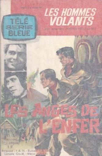 Couverture de Télé série bleue (Les hommes volants, Destination Danger, etc.) -5- Les hommes volants - Les anges de l'enfer