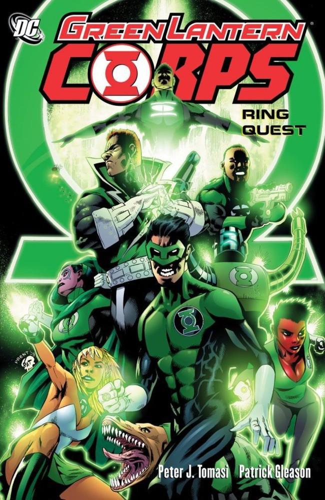 Couverture de Green Lantern Corps (2006) -INT03- Ring Quest