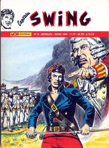 Couverture de Capt'ain Swing! (2e série - Mon Journal) -12- Le bandit de l'île aux rats