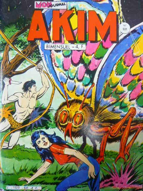 Couverture de Akim (1re série) -531- Les géants de l'île verte