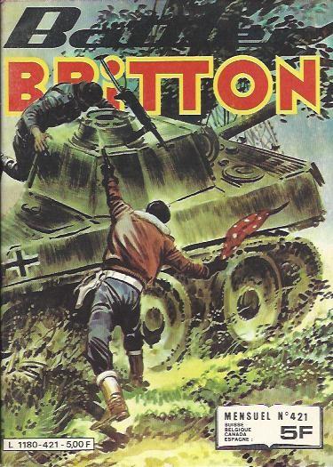 Couverture de Battler Britton -421- Rendez-vous à Casablanca