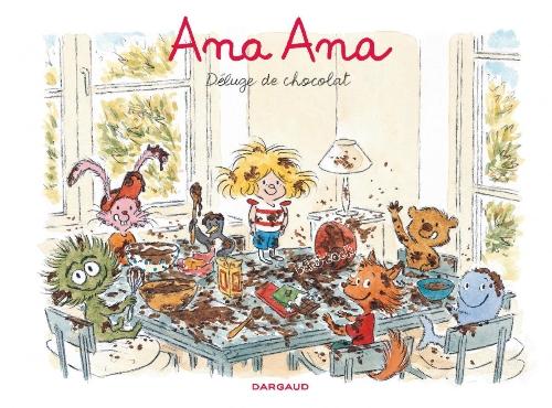 Couverture de Ana Ana -2- Déluge de chocolat