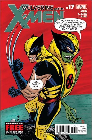 Couverture de Wolverine and the X-Men Vol.1 (Marvel comics - 2011) -17- Wolverine's secret weapon
