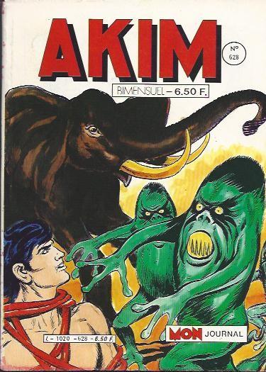 Couverture de Akim (1re série) -628- Panique dans la jungle