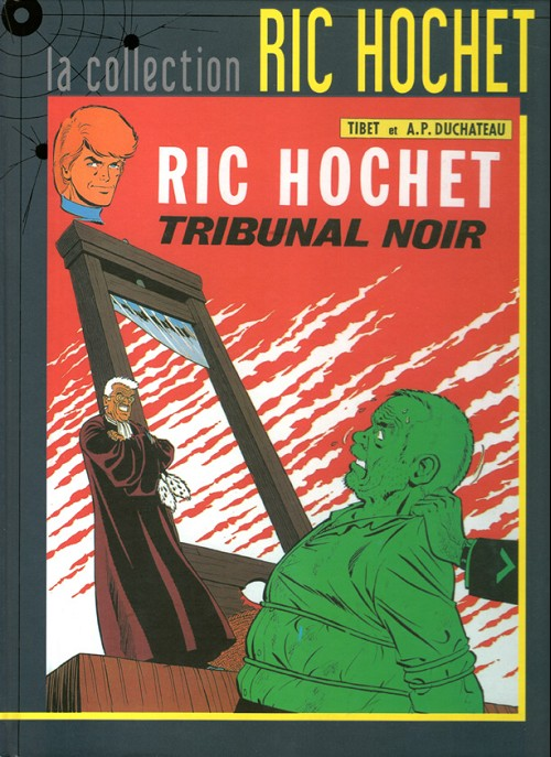 Couverture de Ric Hochet - La collection (Hachette) -32- Tribunal noir